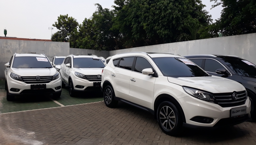 Wow! 100 Unit DFSK Glory 580 Jadi Mobil 'Reward' AP2LI